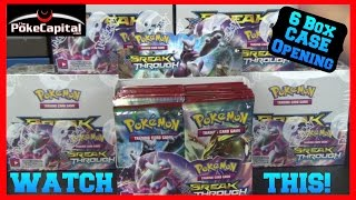 getlinkyoutube.com-Pokemon Cards - XY BREAKthrough Booster Box CASE Opening 6 Boxes!