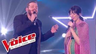 Nicola Cavallaro et Nolwenn Leroy - « As » (G. Michael & M. J. Blige)   The Voice France 2017