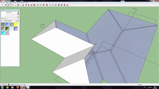 getlinkyoutube.com-Sketchup pro2015 how to  create house model in 1.30 hour for beginer
