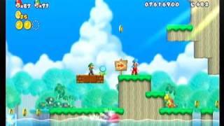 getlinkyoutube.com-New スーパーマリオブラザーズ Wii 9-2