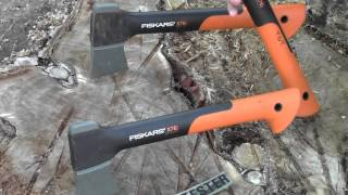 "getlinkyoutube.com-""FISKARS X7 Hatchet: Backpacker's Chainsaw"" by TheGearTester"