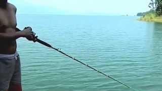 getlinkyoutube.com-ที่เที่ยวกาญจนบุรี ตกปลาที่แพเขื่อนศรี