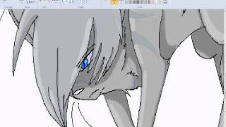 getlinkyoutube.com-OLD AND HORRIBLE Jayfeather and Half Moon [Warrior cats] SPEEDPAINT