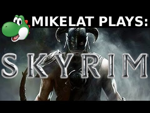 Let's Play Skyrim - Part 1 [MAGE & BLIND]