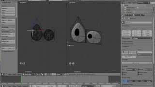 getlinkyoutube.com-How to make a flat cartoon eye track an empty in Blender - Eye rigging
