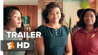 Hidden Figures Official Trailer 2 (2017) - Taraji P. Henson Movie width=