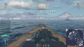 getlinkyoutube.com-World of Warships Beta Weekend: Yamato Gameplay