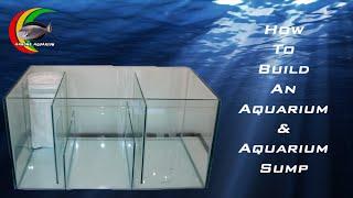 getlinkyoutube.com-How To: Build an Aquarium / Fish Tank and Aquarium Sump