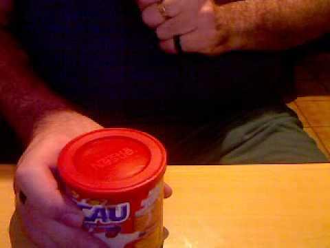 Ensinando o batuque da lata