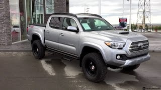 getlinkyoutube.com-Lifted 2016 Toyota Tacoma TRD Sport on 265/70R17 Tires