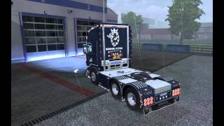 getlinkyoutube.com-Euro truck Simulator 2 Scania Blue King Tuning