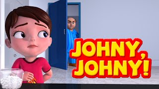 getlinkyoutube.com-Johny Johny Yes Papa Nursery Rhymes for Children