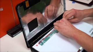 getlinkyoutube.com-Toshiba Satellite C850, L850, P850, C670, L670, C850D, P755 Laptop Screen Replacement.wmv