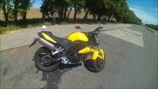 getlinkyoutube.com-[HD] Test i prezentacja Benda Street 125 | motocykle-125.com.pl