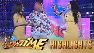 It's Showtime Miss Q & A: Bela Padilla imitates