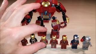 getlinkyoutube.com-XVX Game Time's Lego Iron Man Armour