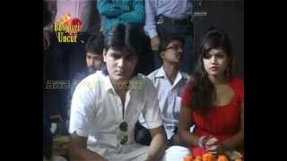 getlinkyoutube.com-Song recording & Mahurat of Bhojpuri film''Dil Bahil Deewana Tohra Pyaar Mein 1