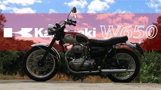 【Kawasaki W650】 POSH W1マフラー 【Custom】