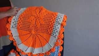 getlinkyoutube.com-Tapetes em Crochê Lourdes Ferreira