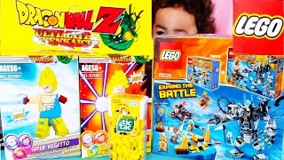 getlinkyoutube.com-LEGO Chima Dragon Ball Z Police Lego Set Unboxing! NEW Minions Tic Tacs