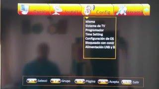 """getlinkyoutube.com-SAMSAT HD90 """"Ponerlo de fabrica&Reinstalarcanales+cccam"""""""