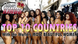 getlinkyoutube.com-10 Countries with the most Beautiful Women in the world: Passport Kings Travel Video
