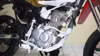getlinkyoutube.com-BROS 160 COM MOTOR PRETO ( 1/2 )