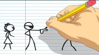 getlinkyoutube.com-New Stickfight Animation
