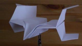 getlinkyoutube.com-Papierflieger X-W2 Bastelanleitung