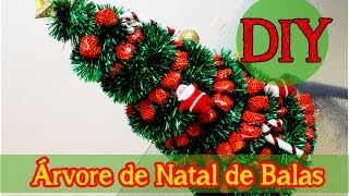 getlinkyoutube.com-DIY: Arvore de Natal de Balas (Fácil e Rápido)|Decor | Topo de Mesa| Natal Tropical # 2