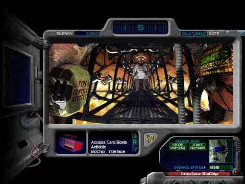 journeyman project turbo Agent 5 of the temporal security agency travels back in time in this enhanced version of the original game.