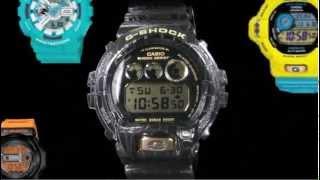 getlinkyoutube.com-Evolution of G-Shock Watch  -- Design