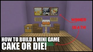 getlinkyoutube.com-How To Build Cake or Die In Minecraft! (Russian Roulette With Cake)