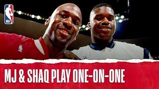 getlinkyoutube.com-Michael Jordan Plays One-on-One with Shaq