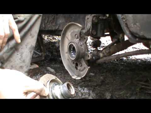 Где подшипник передней ступицы в Lada Самара