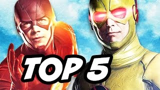getlinkyoutube.com-The Flash Season 3 Reverse Flash Eddie Thawne Returns Explained