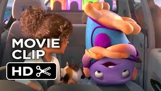 getlinkyoutube.com-Home Movie CLIP - Uncontrollable Alien Dance (2015) - Jim Parsons, Rihanna Animated Movie HD