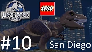 getlinkyoutube.com-Jurassic World Lego Game Level 10: San Diego Gameplay Walkthrough  By WD Toys