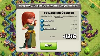 getlinkyoutube.com-1216 POKALE BEKOMMEN! || CLASH OF CLANS || Let's Play CoC [Deutsch/German HD]