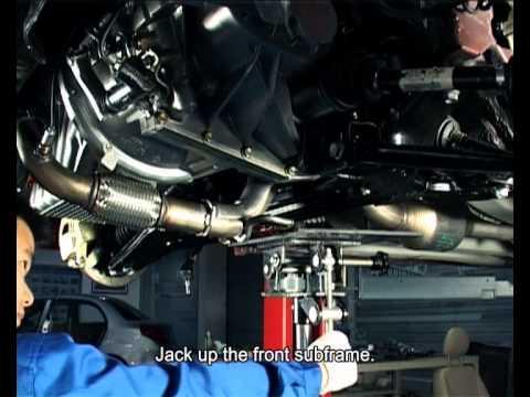 Снятие и установка рулевого механизма с гидроусилителем (рулевая рейка) Chery A13 / Форза