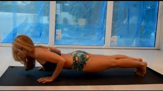getlinkyoutube.com-Shoulder Alignment in Chaturanga & Jump Backs: Student Questions with Kino