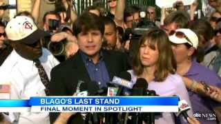 Rod Blagojevich Prison: Blago Reports to Jail After Spirited Speech, Says He's Innocent of Charges