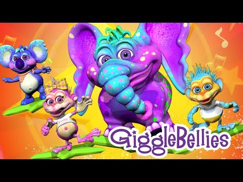 Head Shoulders Knees &amp; Toes with The GiggleBellies- Music video Preview