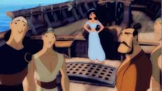 getlinkyoutube.com-Nothing But Love ♪ ~ Jasmine ♥ Sinbad {Non/Disney Crossover}