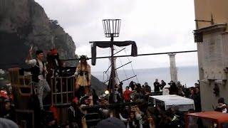 Carnevalissimo Capri 2016: La sfilata dei Carri Allegorici - 3 Parte-