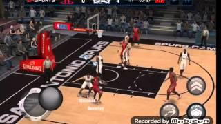 getlinkyoutube.com-NBA 2K16 VS NBA LIVE MOBILE Android
