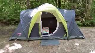 getlinkyoutube.com-Coleman Naugatuck 6 Person Tent
