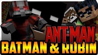 getlinkyoutube.com-Batman and Robin Meet Ant-Man! (Minecraft Roleplay)