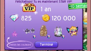 getlinkyoutube.com-Je suis vip 1 an Star + Boost 2