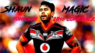 getlinkyoutube.com-Shaun Johnson • Welcome Back 2016 ᴴᴰ
